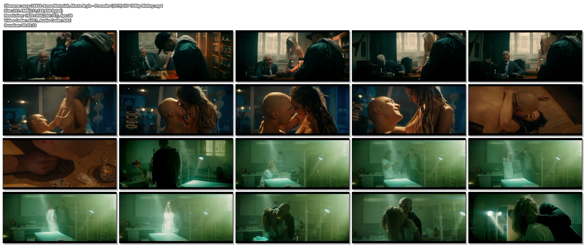 Anna Matysiak nude and hot sex Marta Bryla sex doggy style Proceder 2019 HD 1080p BluRay 11