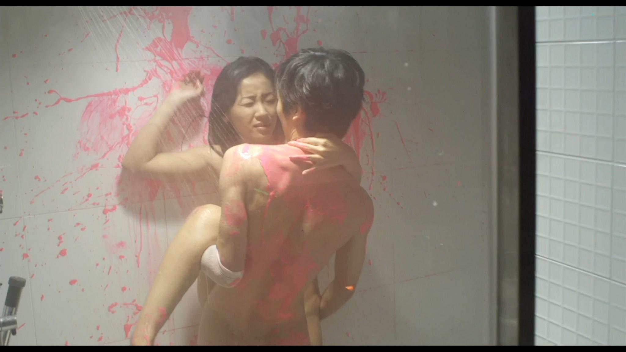 Megumi Kagurazaka nude full frontal Makoto Togashi nude too Guilty of Romance JP 2011 HD 1080p BluRay 07