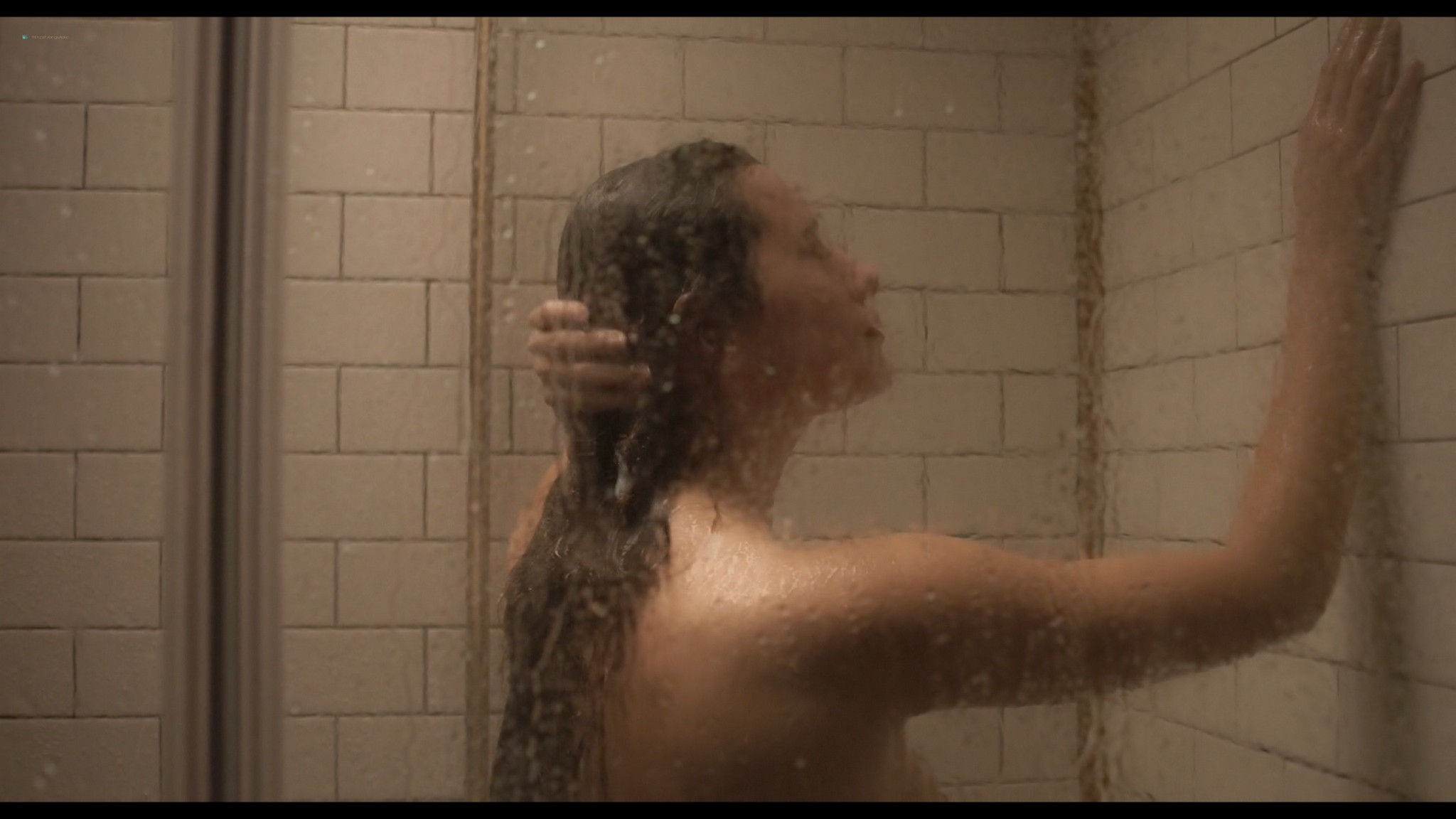 Andrea Tivadar nude topless and sex in the shower Safe Inside 2019 2019 HD 1080p Web 01