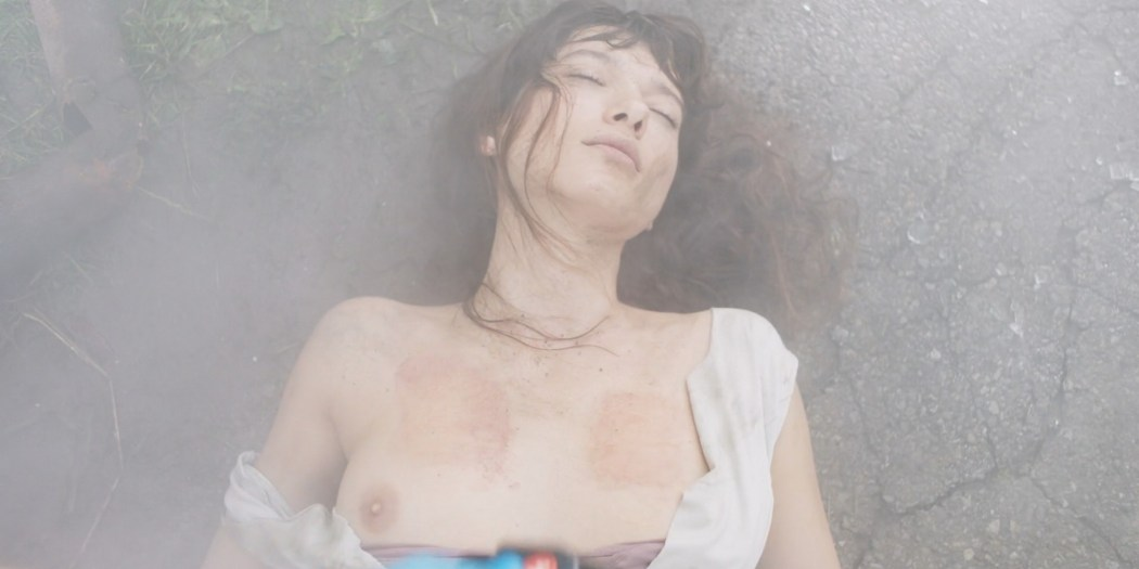 Andrea Tivadar nude topless and sex in the shower Safe Inside 2019 2019 HD 1080p Web 08