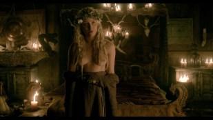 Ida Nielsen nude full frontal Josefin Asplund topless sex - Vikings (2017) S4 HD 1080p