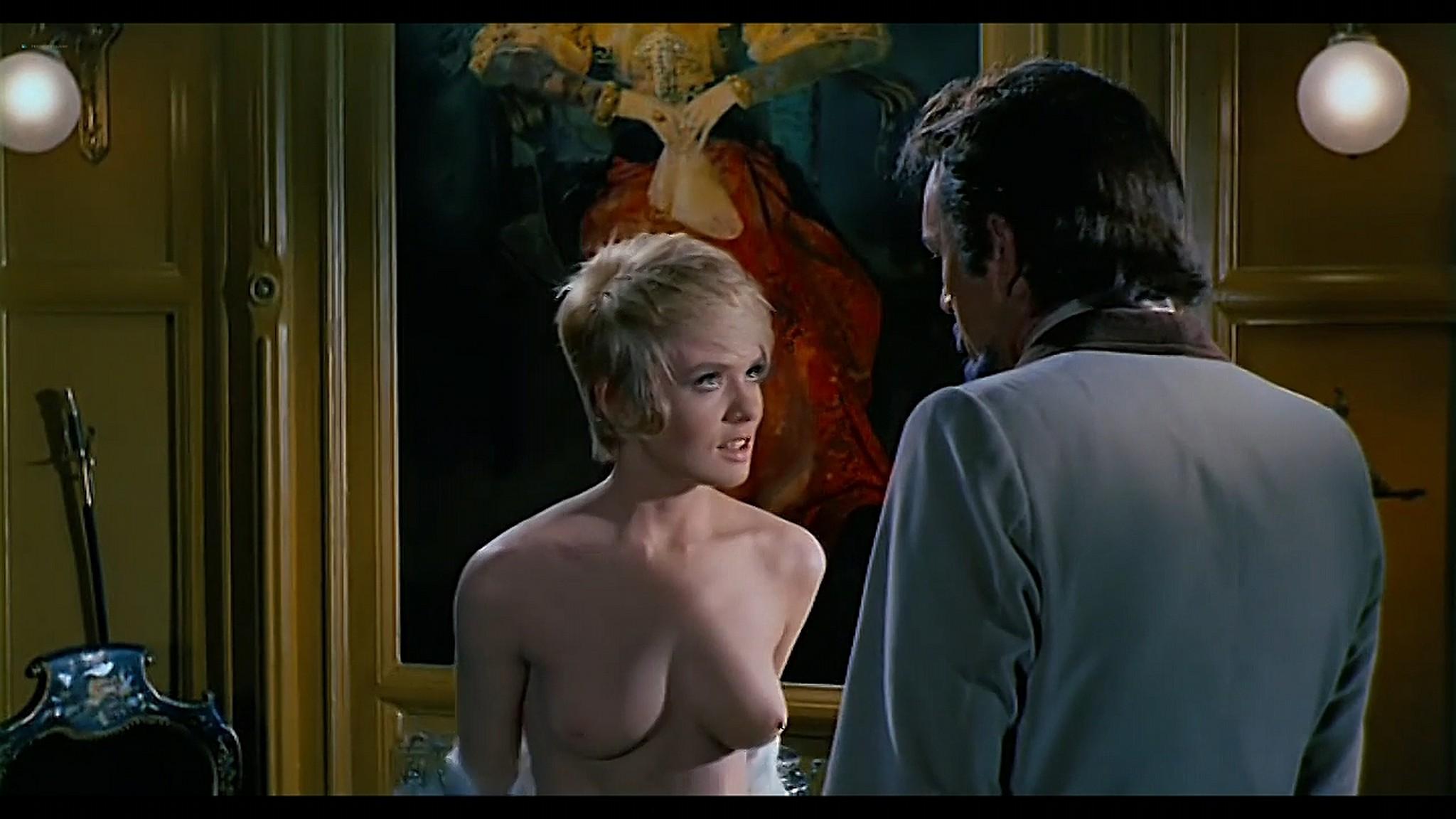 Joey Heatherton nude topless Sybil Danning Karin Schubert and others nude Bluebeard 1972 720p 15