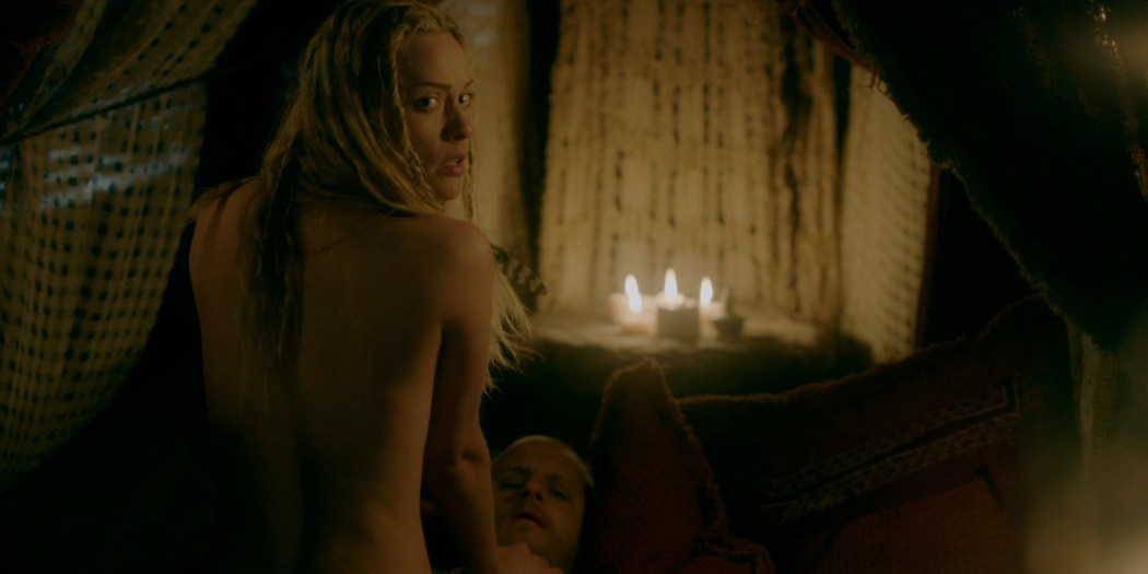 Lucy Martin nude and some sex Vikings 2020 S6 HD 1080p 11