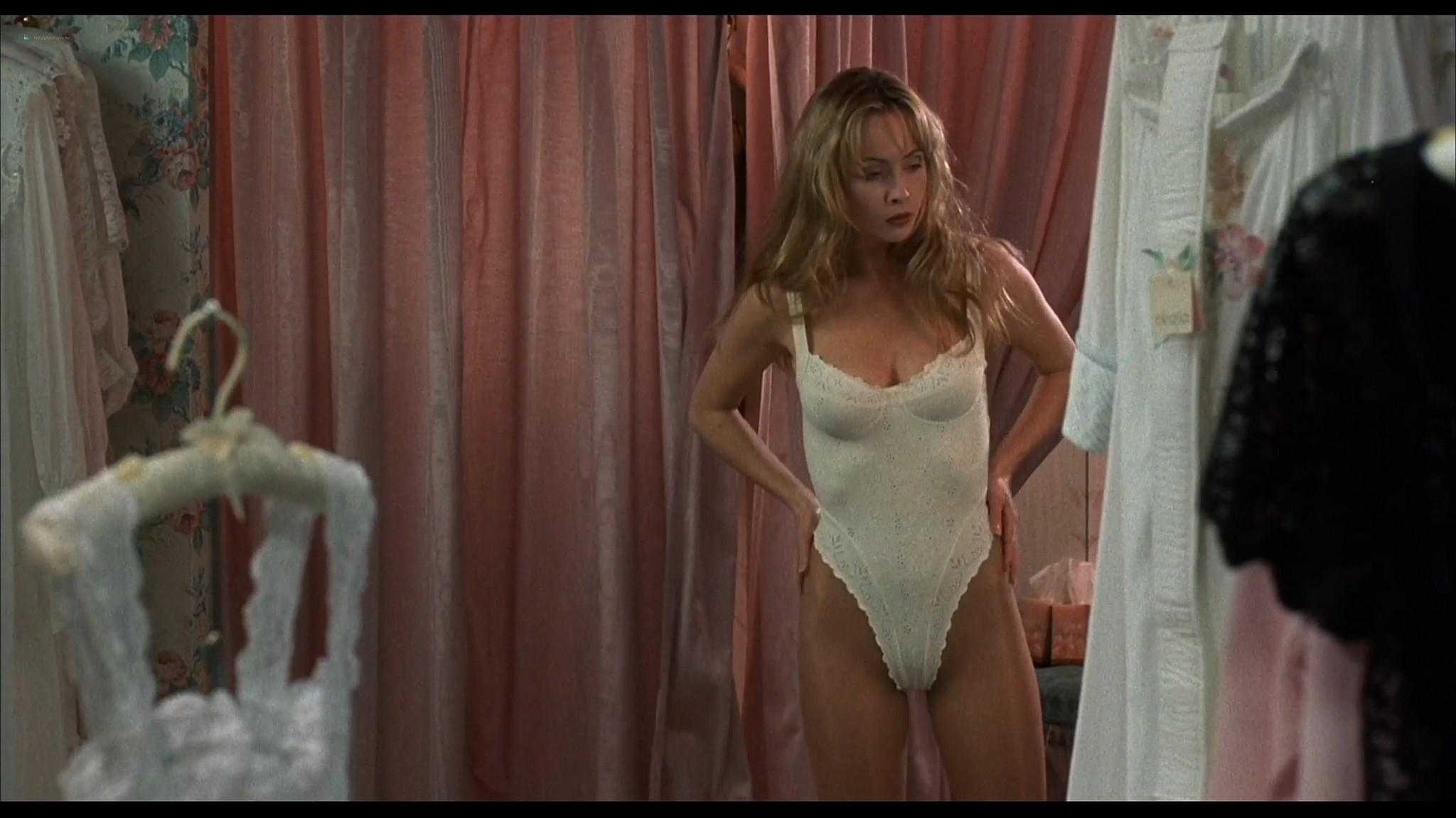 Lysette Anthony nude sex and Ashlie Rhey topless Save Me 1993 HD 1080p Web 01