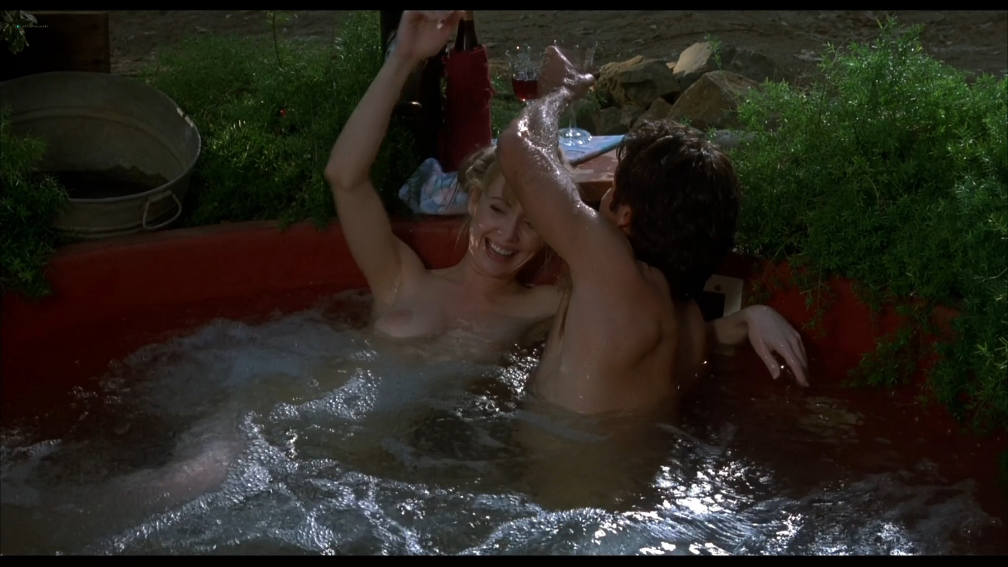 Lysette Anthony nude sex and Ashlie Rhey topless Save Me 1993 HD 1080p Web 12