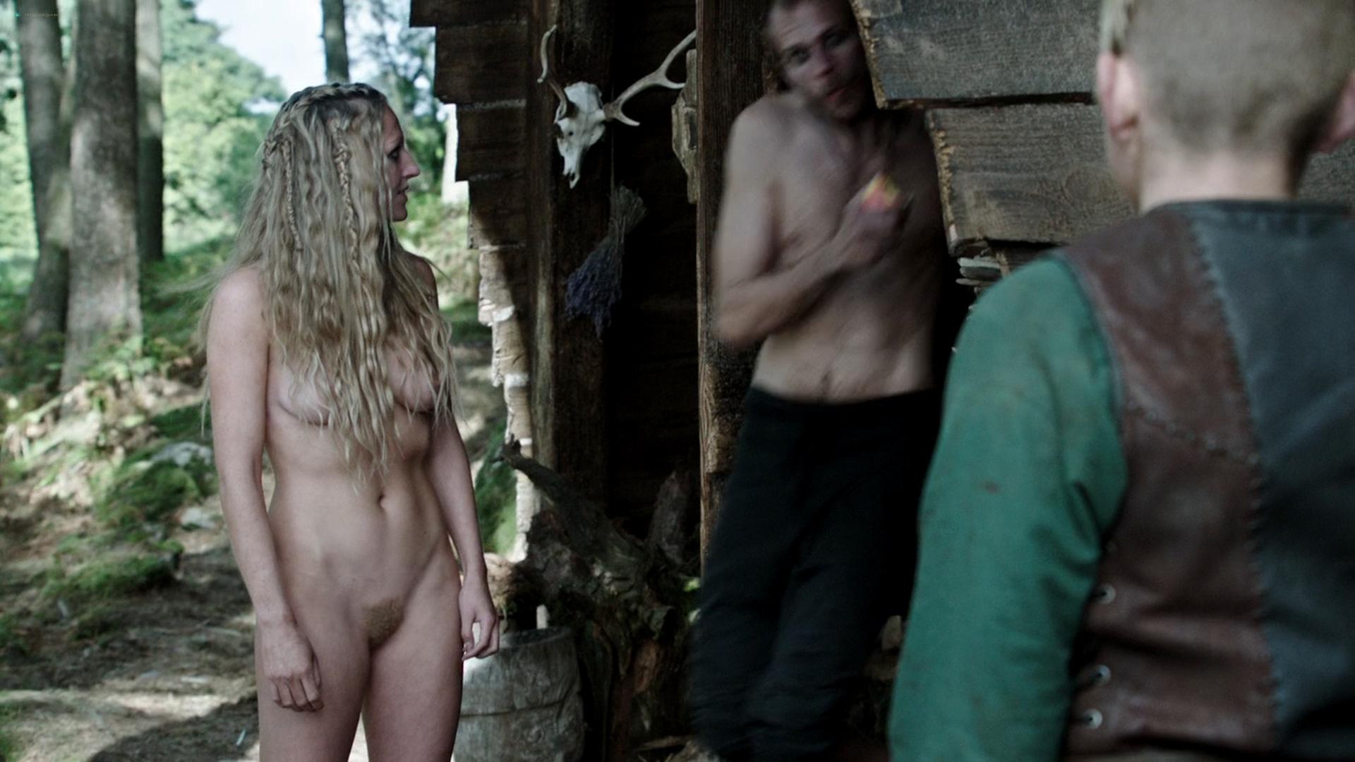 Maude Hirst Vikings 2013 s1e5 HD 1080p 1 1 3