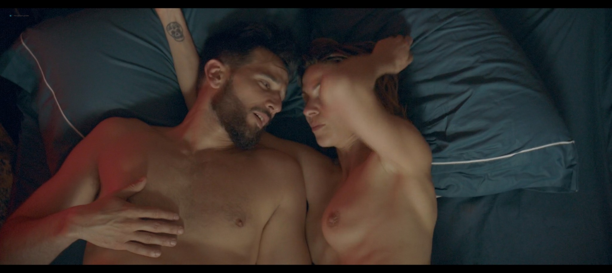 Natalia Tena nude sex Bella Camero nude and hot sex too Sangre 2020 HD 1080p Web 010