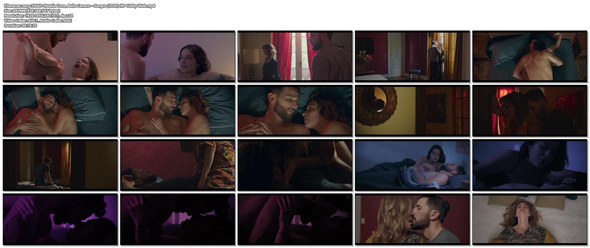 Natalia Tena nude sex Bella Camero nude and hot sex too Sangre 2020 HD 1080p Web 015