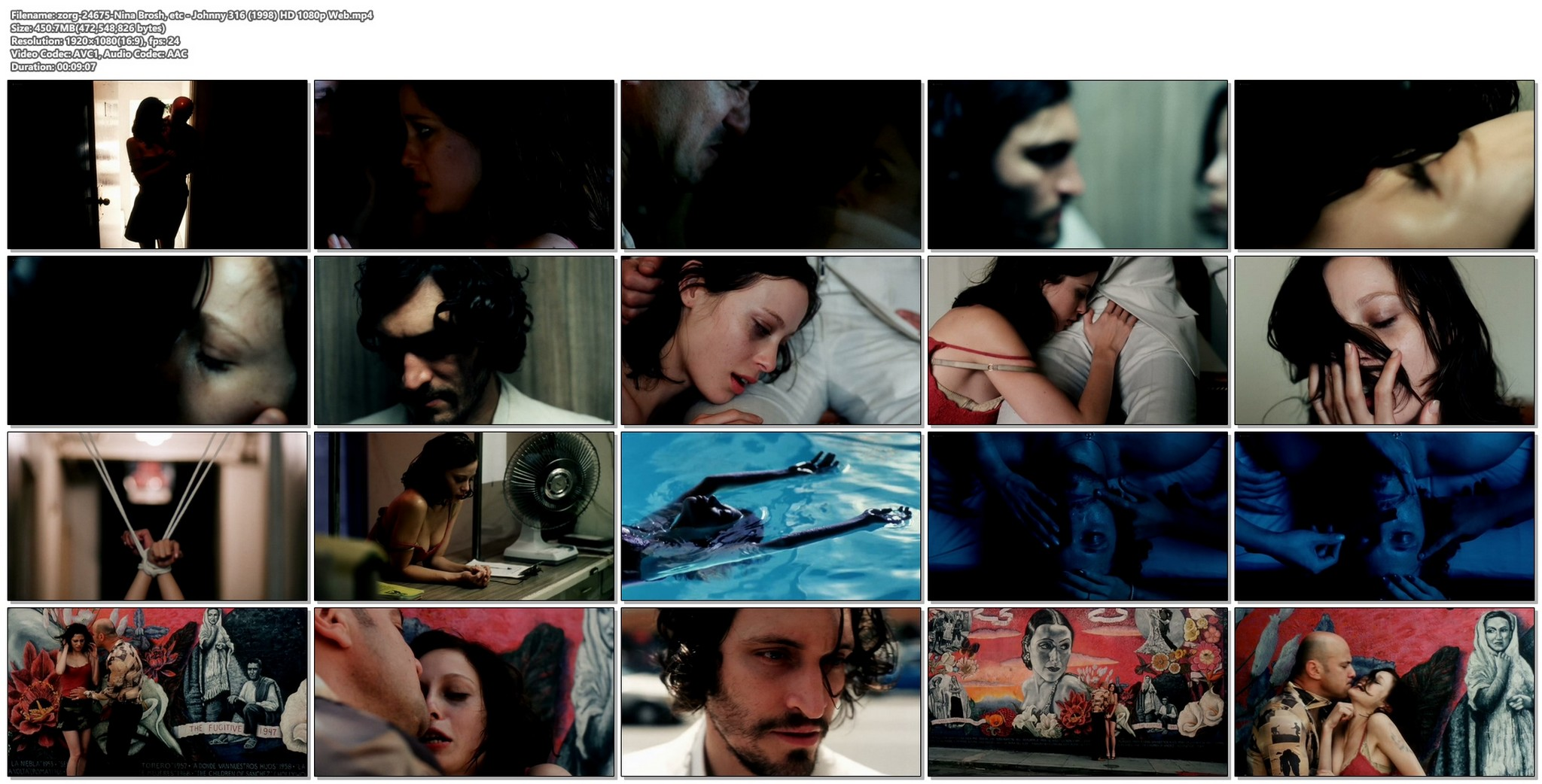 Nina Brosh nude and some sex Johnny 316 1998 HD 1080p Web 020