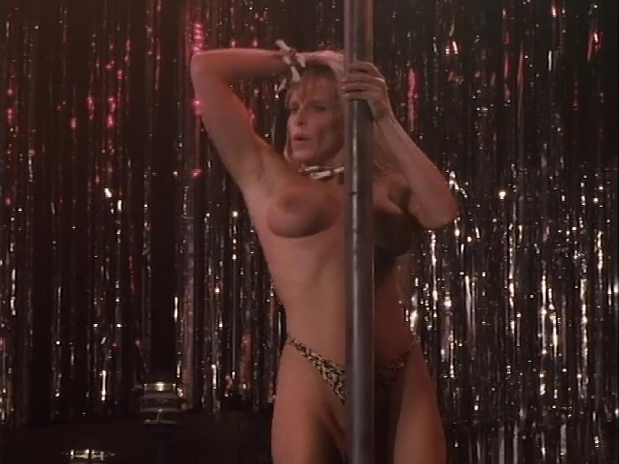 Barbara Alyn Woods nude Catya Sassoon Jill Pierce nude too as strippers Dance with Death 1991 2