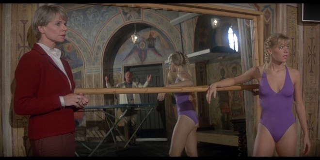 Carole Bouquet hot see through and Lynn Holly Johnson hot For Your Eyes Only 1981 1080p BluRay 11