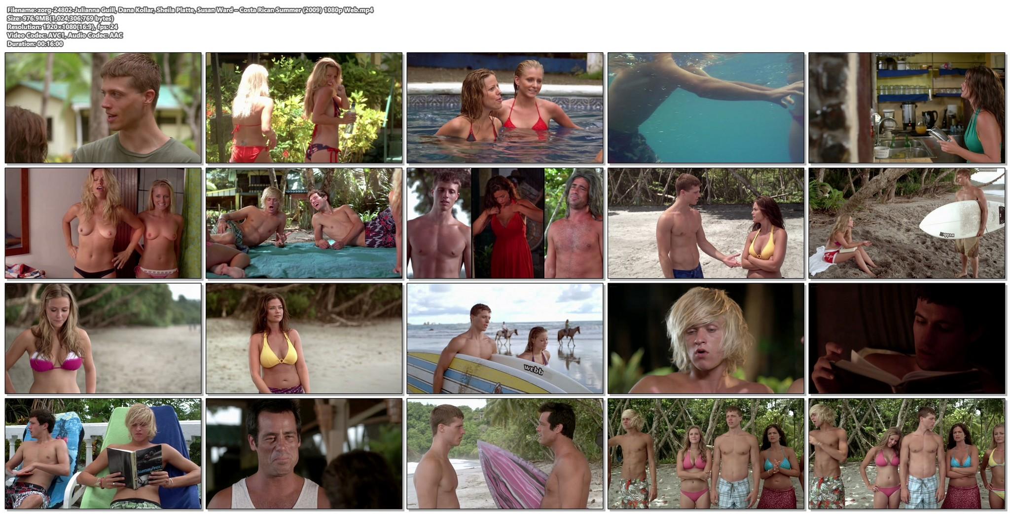 Dana Kollar and Sheila Platte nude topless Julianna Guill and Susan Ward hot Costa Rican Summer 2009 1080p Web 20