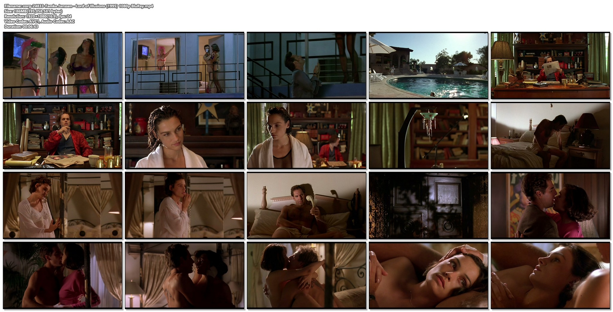 Famke Janssen nude nipple and sex Lord of Illusions 1995 1080p BluRay 17