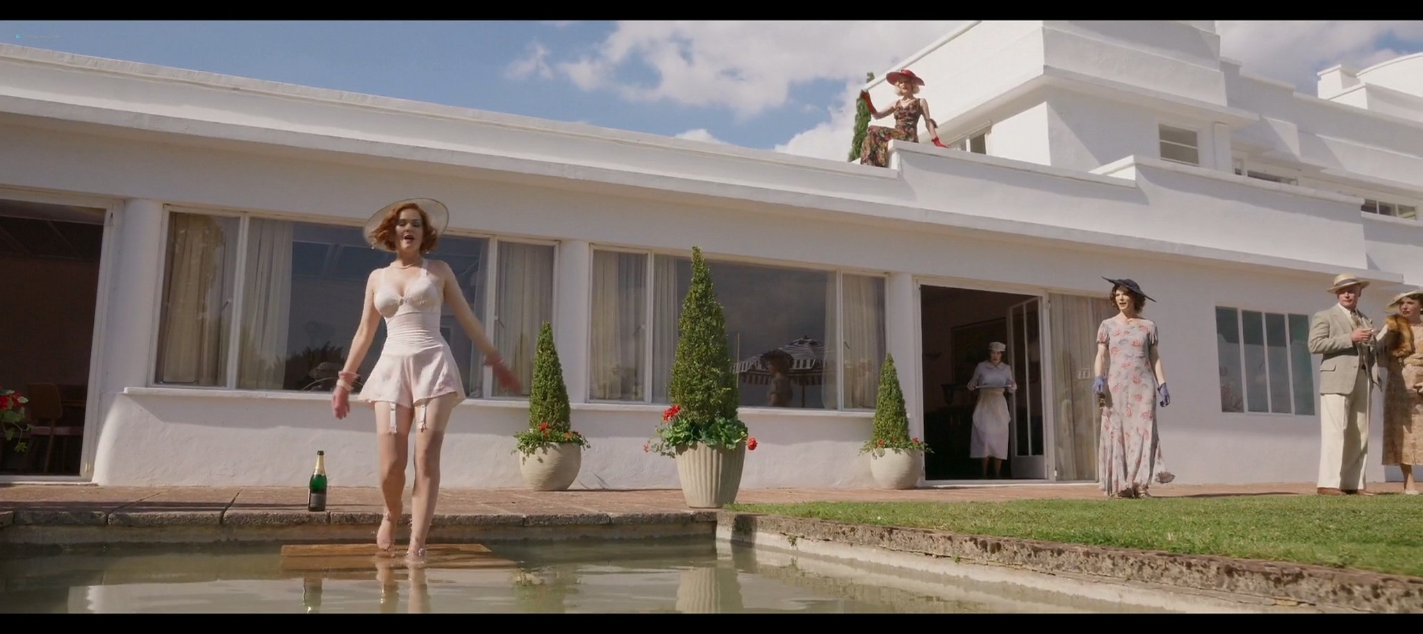 Isla Fisher hot and sexy Blithe Spirit 2020 1080p Web 11