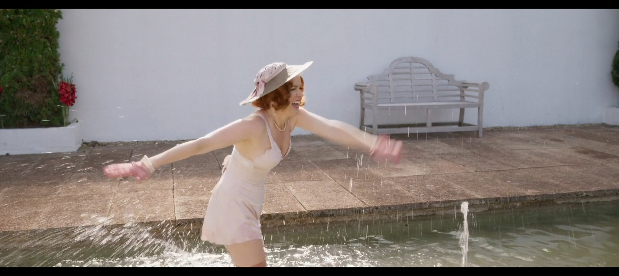 Isla Fisher hot and sexy Blithe Spirit 2020 1080p Web 14
