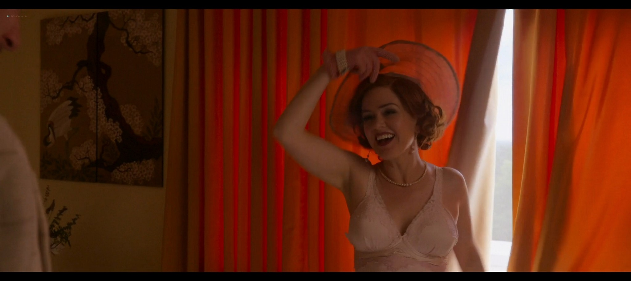 Isla Fisher hot and sexy Blithe Spirit 2020 1080p Web 16