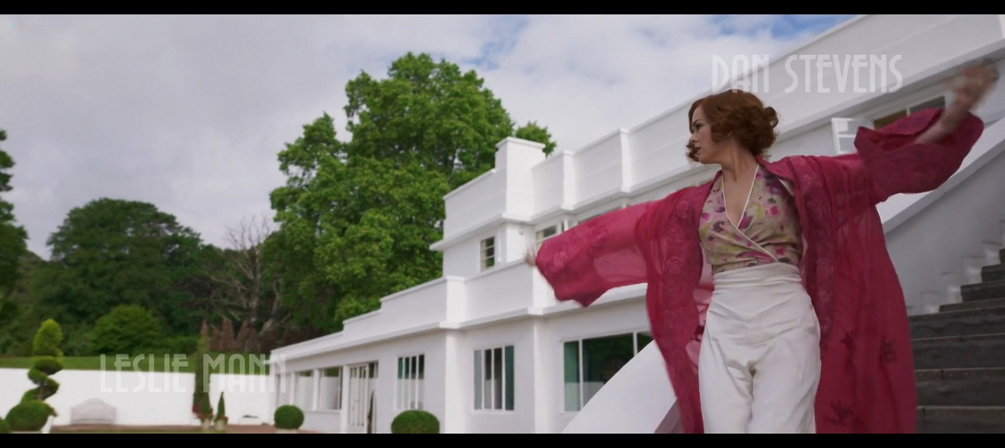 Isla Fisher hot and sexy Blithe Spirit 2020 1080p Web 2
