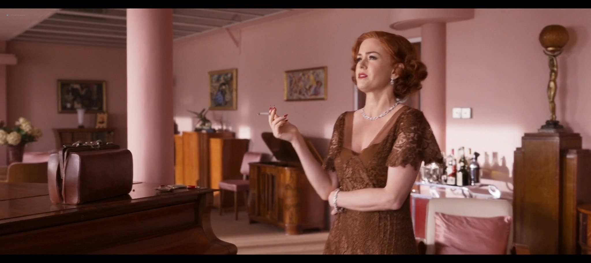 Isla Fisher hot and sexy Blithe Spirit 2020 1080p Web 6