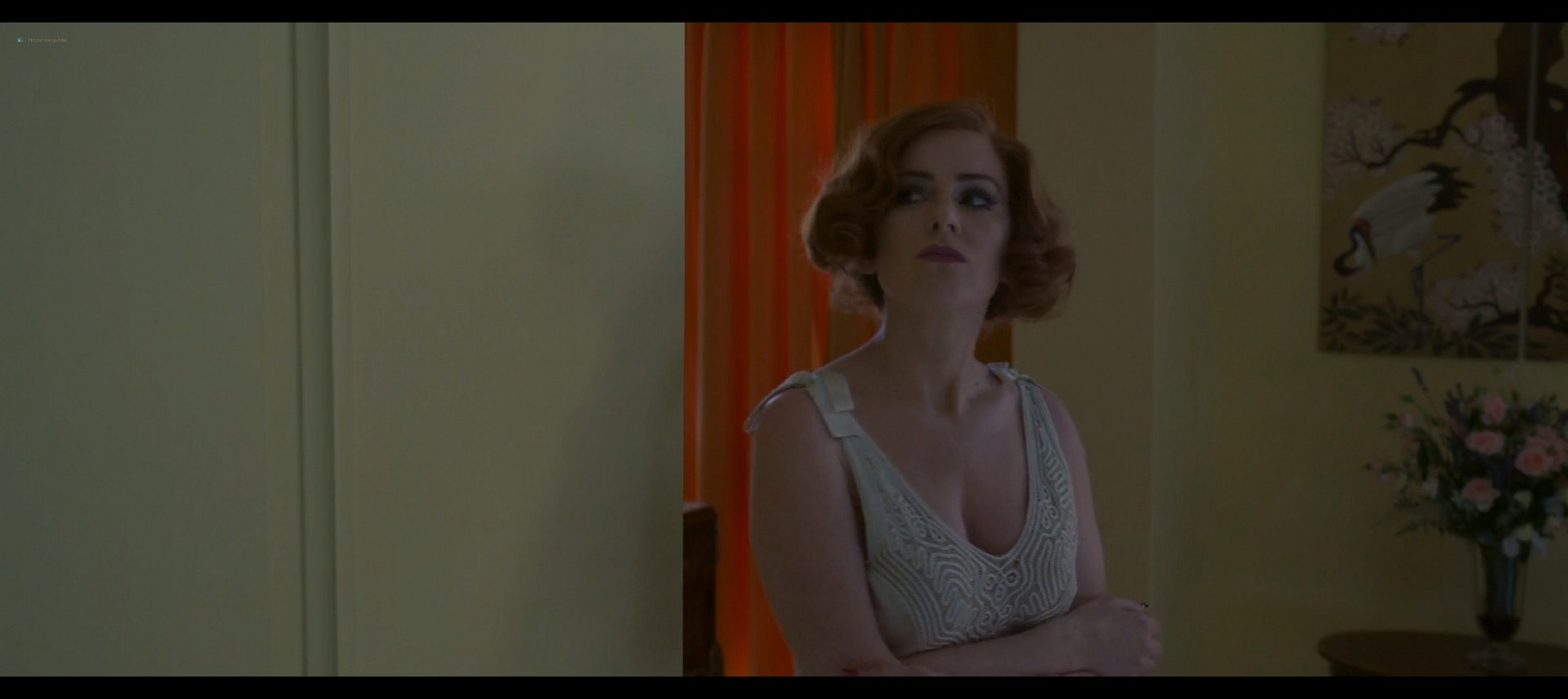 Isla Fisher hot and sexy Blithe Spirit 2020 1080p Web 9