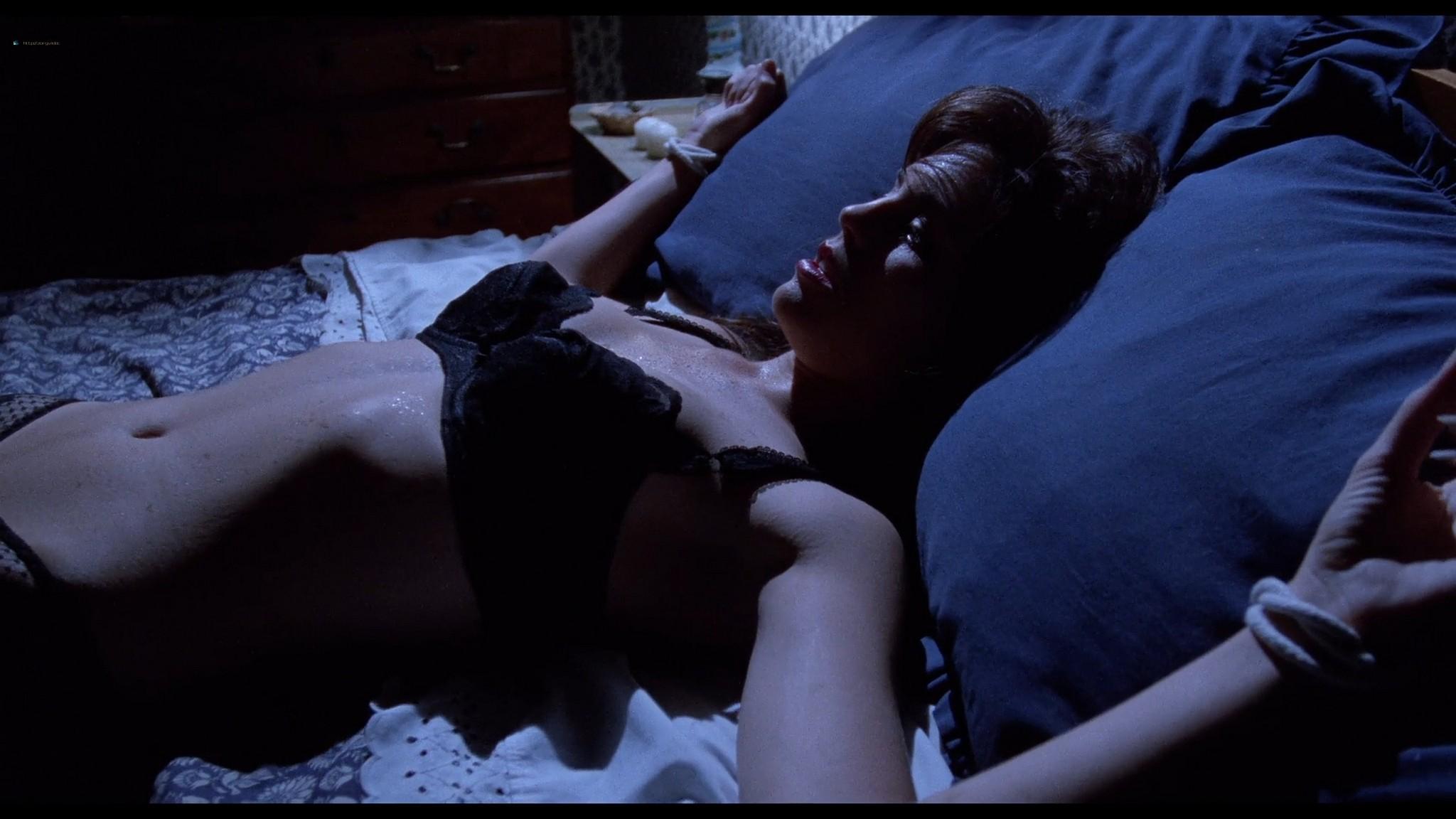 Jill Pierce nude in the shower and bound Darkroom 1988 1080p BluRay 13