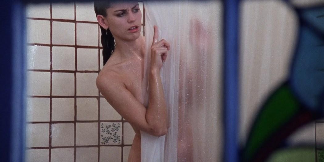 Jill Pierce nude in the shower and bound Darkroom 1988 1080p BluRay 7