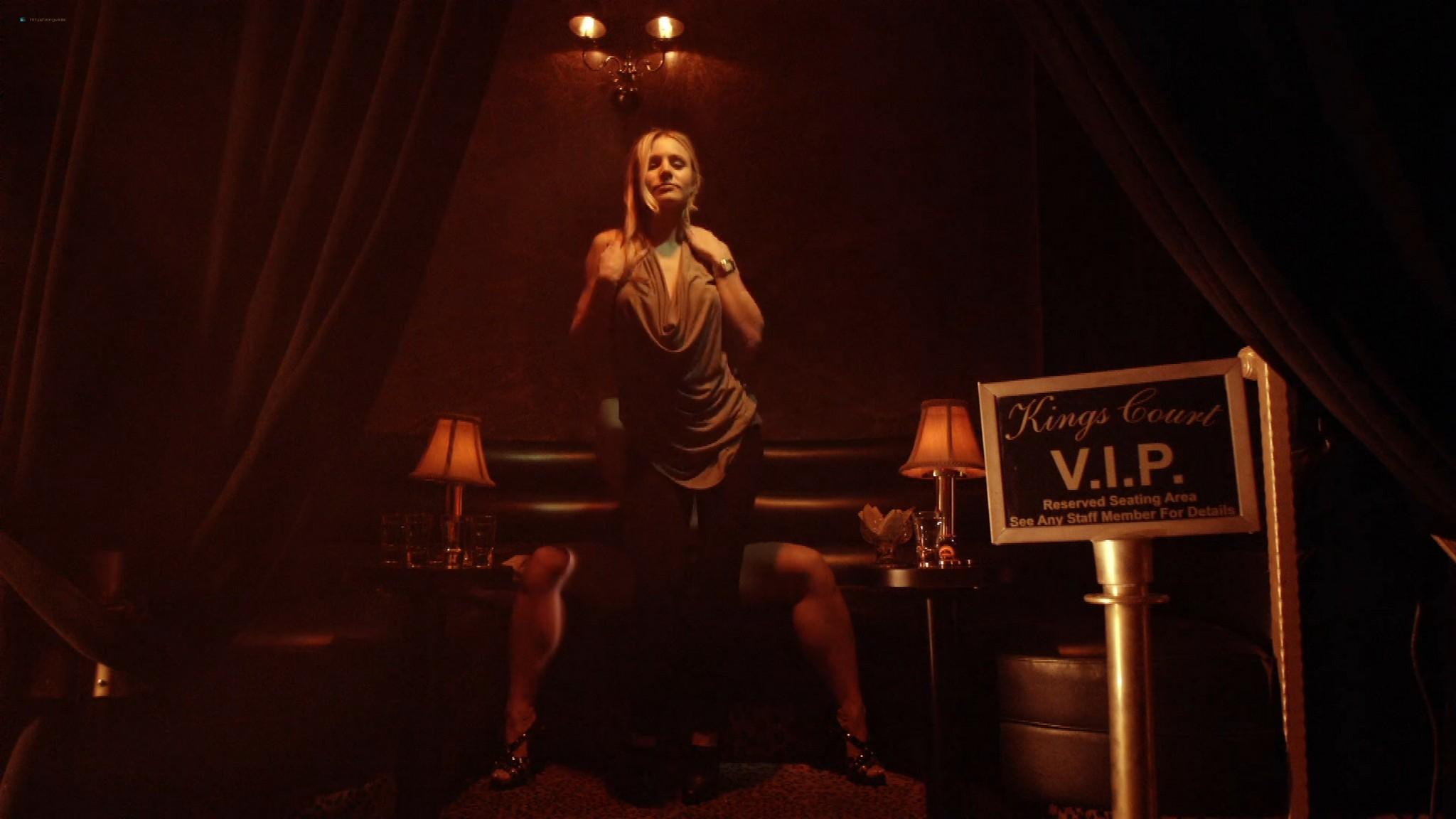 Kristen Bell hot Dawn Olivieri Megalyn Echikunwoke nude topless House Of Lies 2012 s1e1 1080p Web 14
