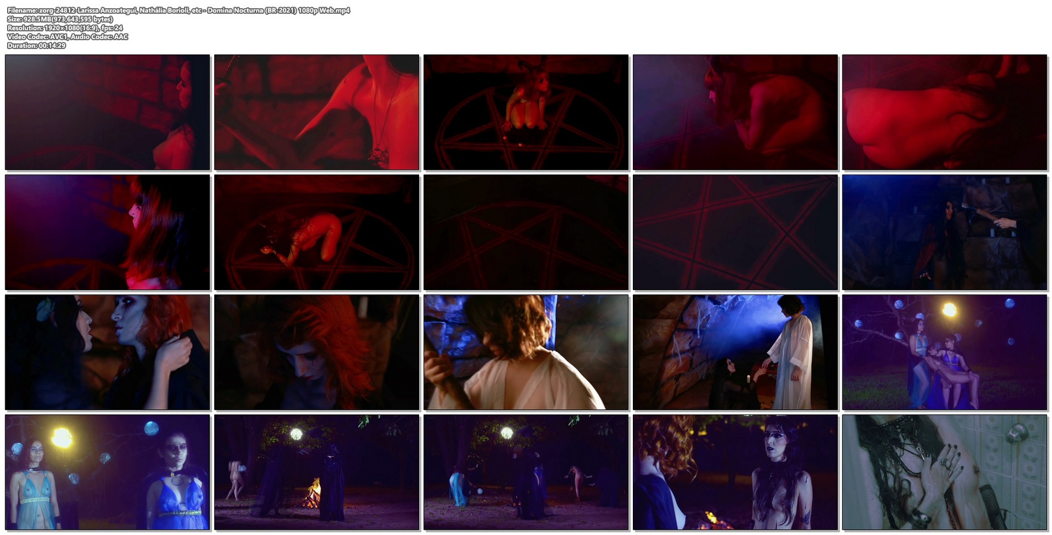 Larissa Anzoategui nude full frontal Nathalia Borioli and others nude Domina Nocturna BR 2021 1080p Web 16