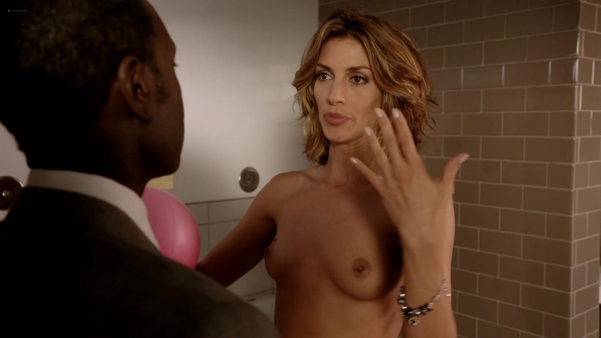 Megalyn Echikunwoke nude topless and Dawn Olivieri nude too House of Lies 2012 s1e7 1080p Web 9
