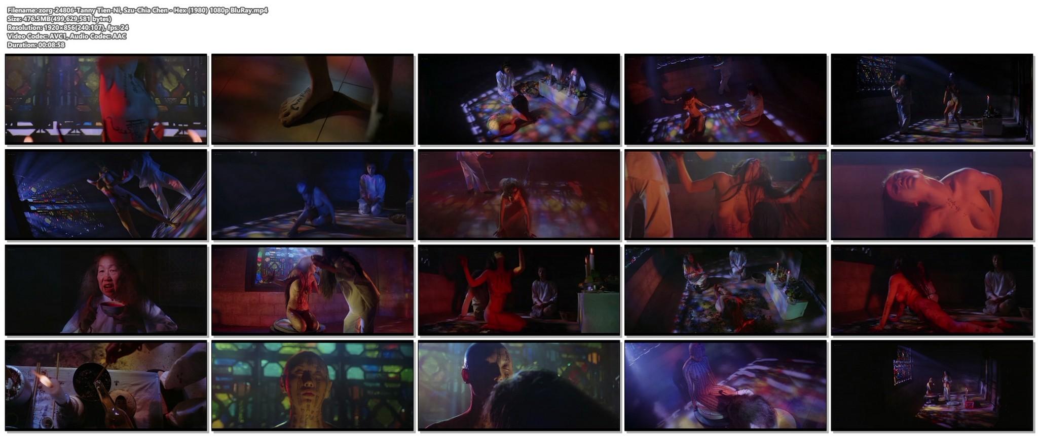 Tanny Tien Ni nude full frontal Szu Chia Chen nude Hex 1980 1080p BluRay 19