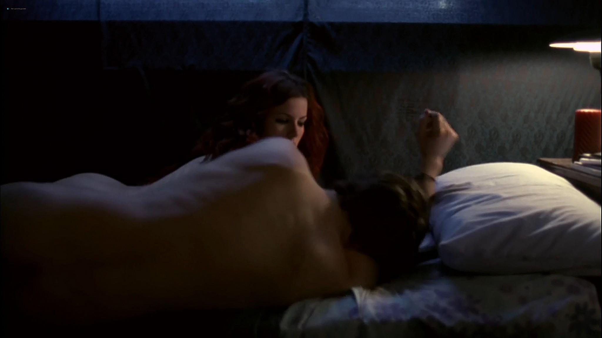 Kathleen Robertson sex threesome Maya Stange nude XX XY 2002 720p Web 11