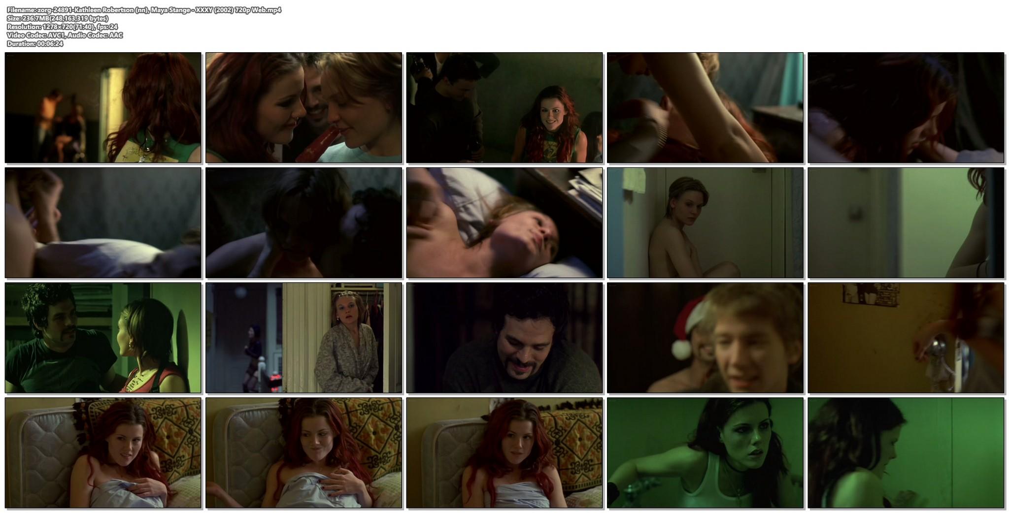 Kathleen Robertson sex threesome Maya Stange nude XX XY 2002 720p Web 16