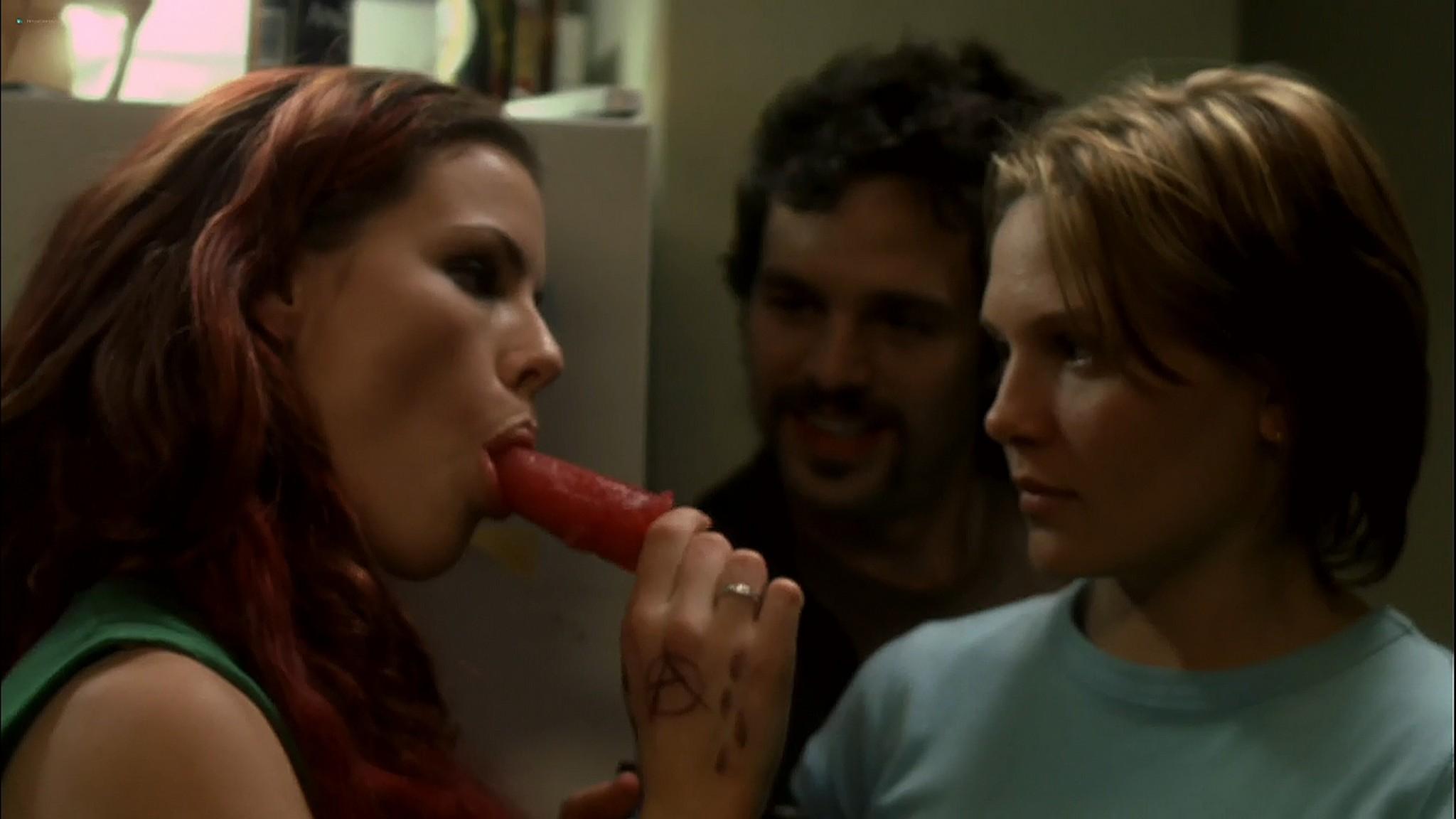 Kathleen Robertson sex threesome Maya Stange nude XX XY 2002 720p Web 2
