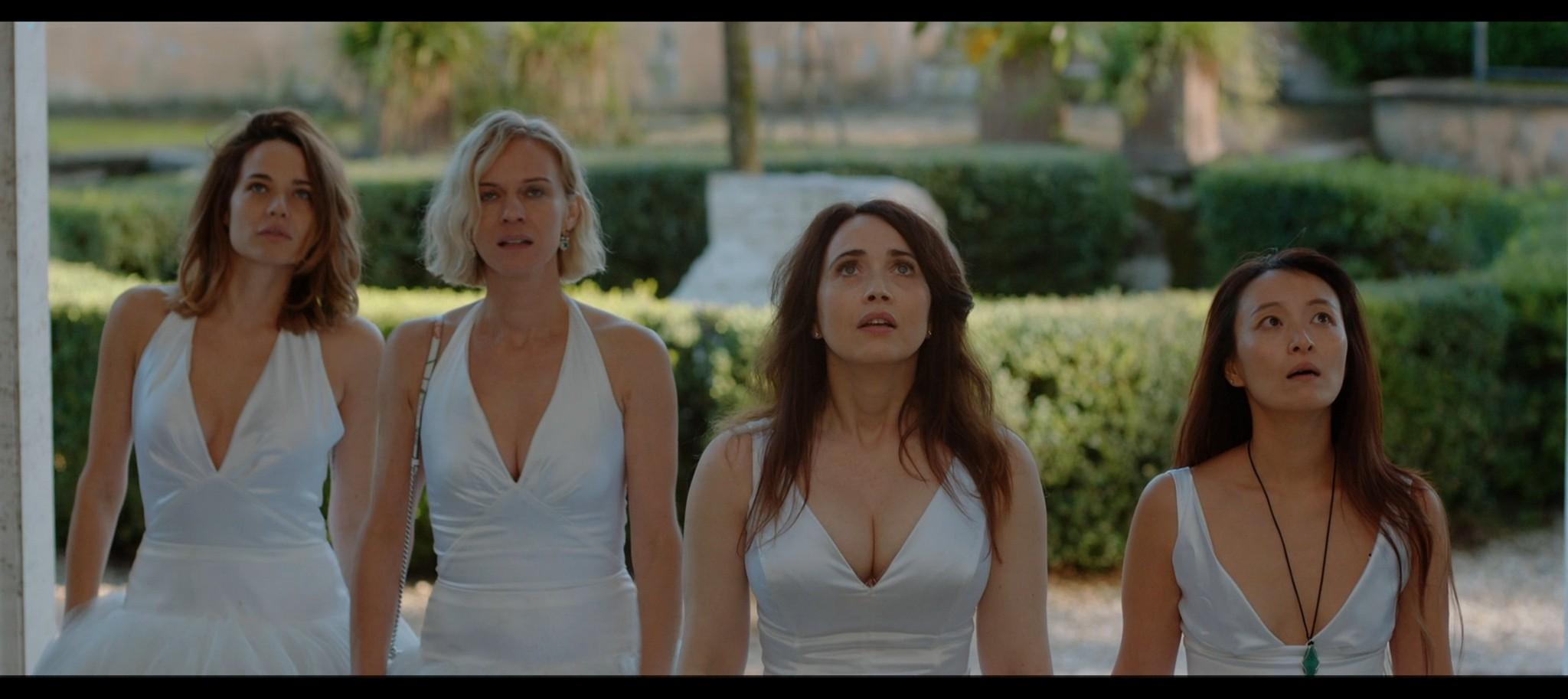 Laura Chiatti nude Antonia Fotaras and others nude bush and topless Addio al nubilato IT 2021 1080p Web 17