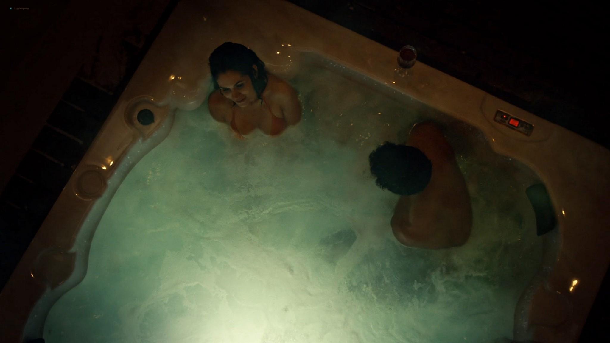 Lela Loren nude wet and sex American Gods 2021 s3e7 1080p Web