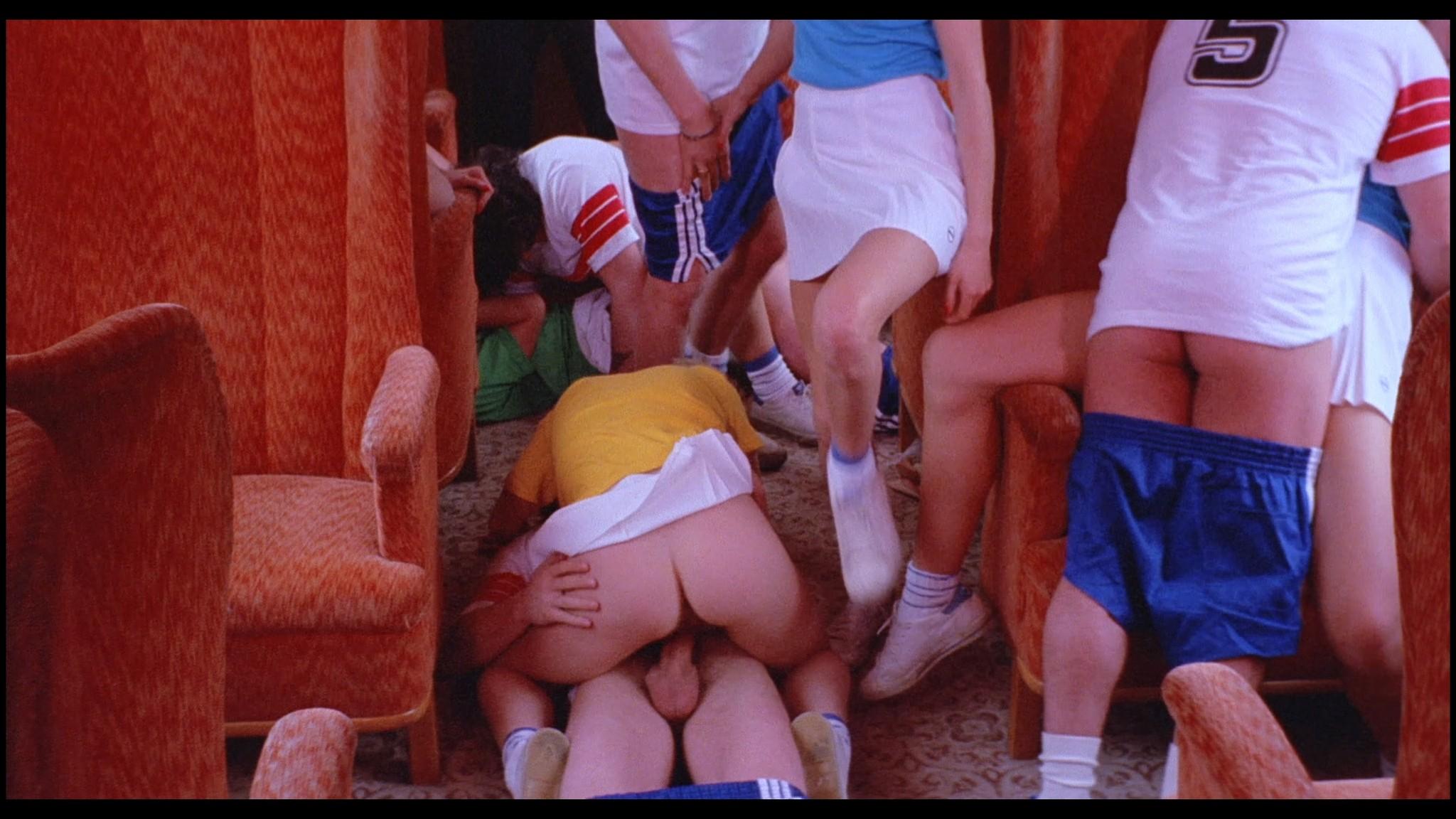 Marianne Aubert Michaela Larsen etc nude explicit sex Sechs Schwedinnen auf der Alm 1983 1080p BluRay 3