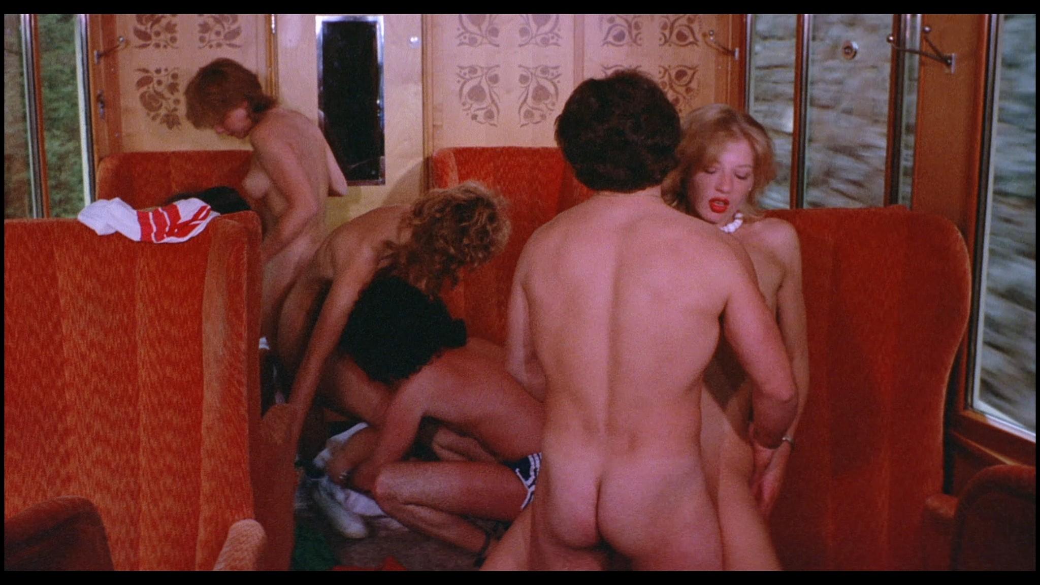 Marianne Aubert Michaela Larsen etc nude explicit sex Sechs Schwedinnen auf der Alm 1983 1080p BluRay 5