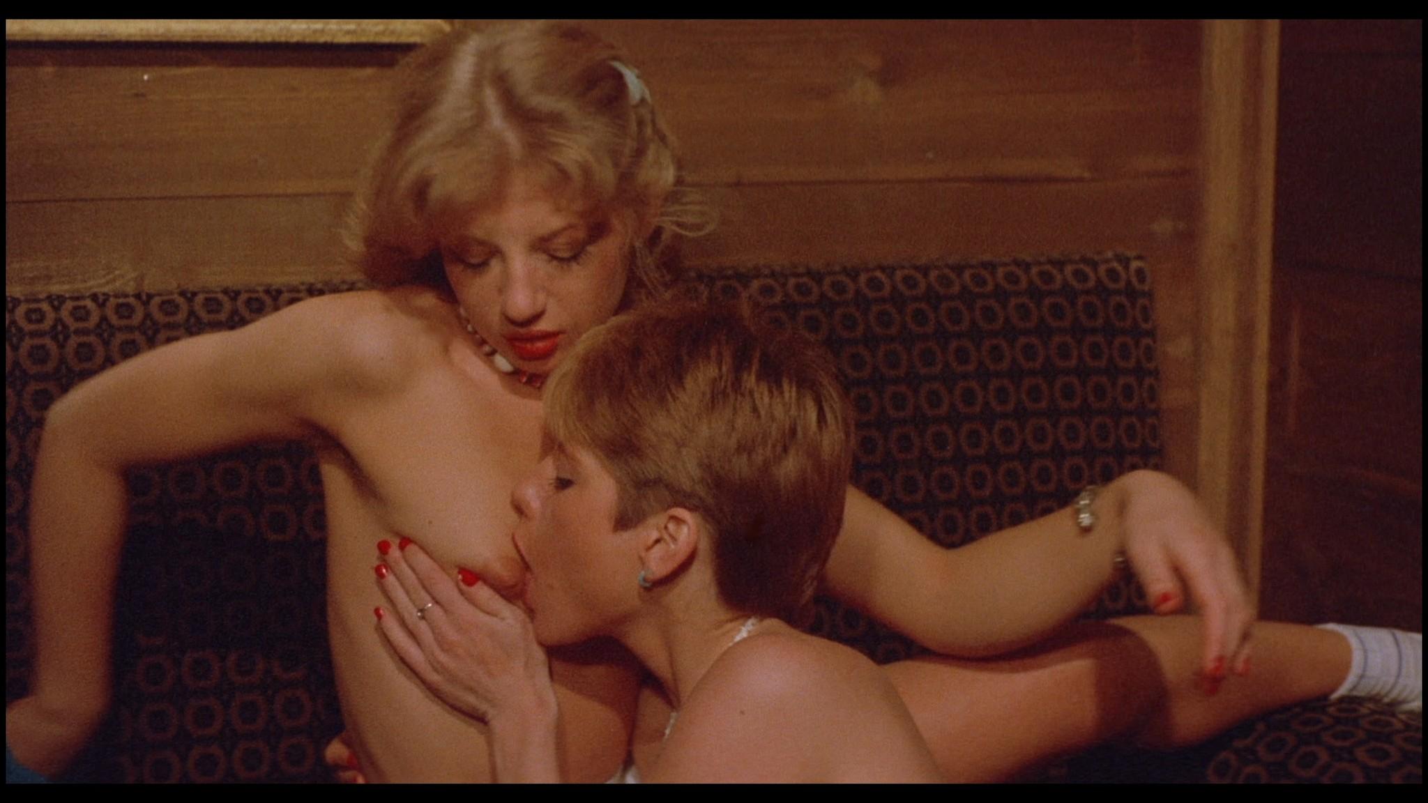 Marianne Aubert Michaela Larsen etc nude explicit sex Sechs Schwedinnen auf der Alm 1983 1080p BluRay 9