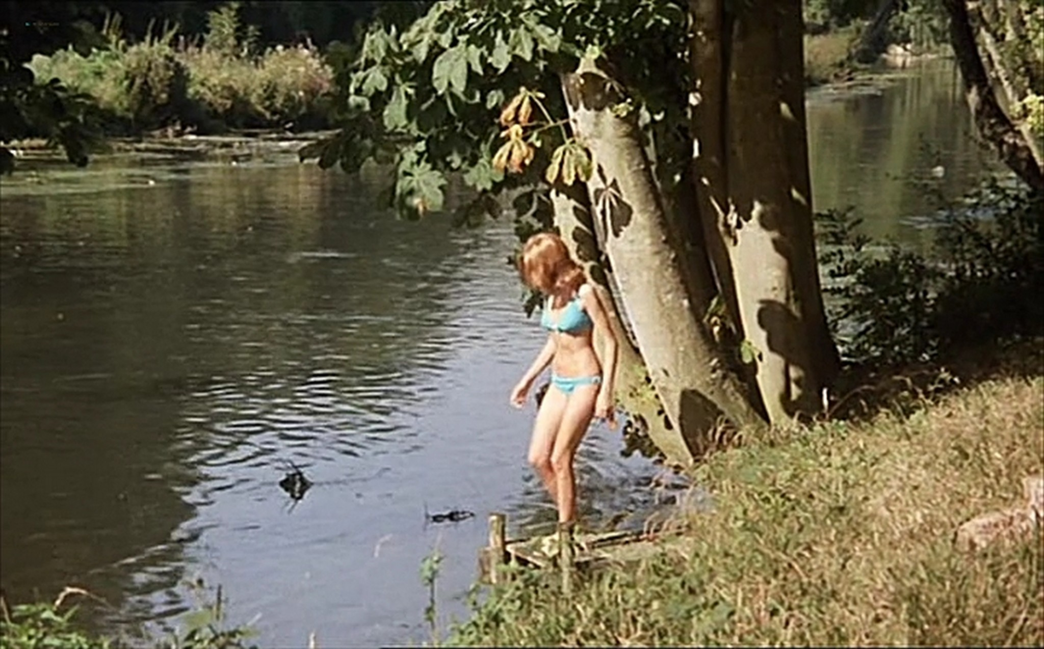 Muriel Catala nude topless and butt and Claire Vernet nude skinny dipping Faustine et le bel ete 1972 8