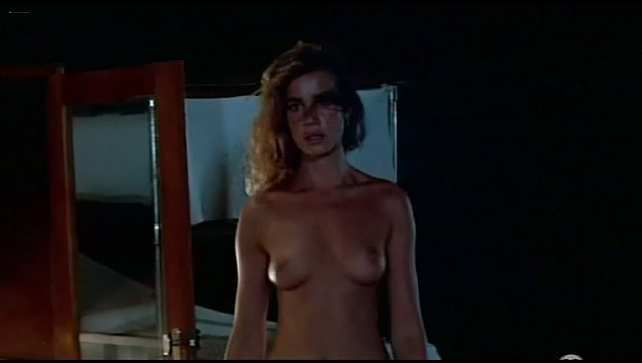Valerie Kaprisky nude full frontal Caroline Cellier and others nude L annee des meduses 1984 21