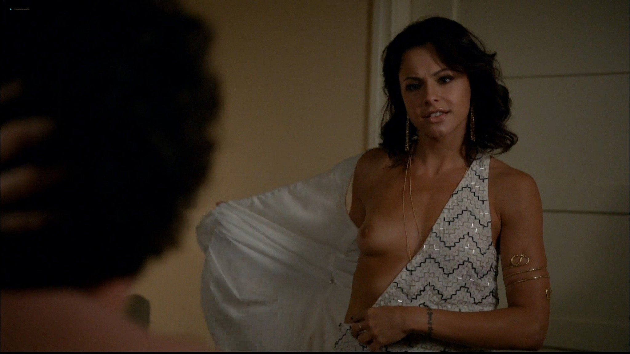 Brigette Davidovici nude butt and topless and Heather Graham hot Californication 2014 s7e5 e6 HD 1080p 2