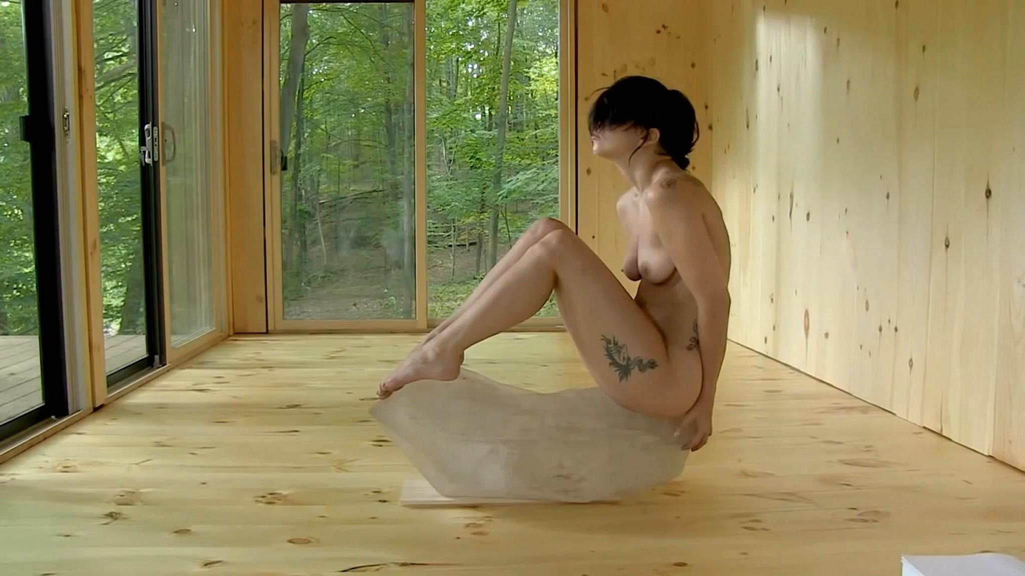 Lady Gaga nude full frontal Abramovic Method 2013 1080p