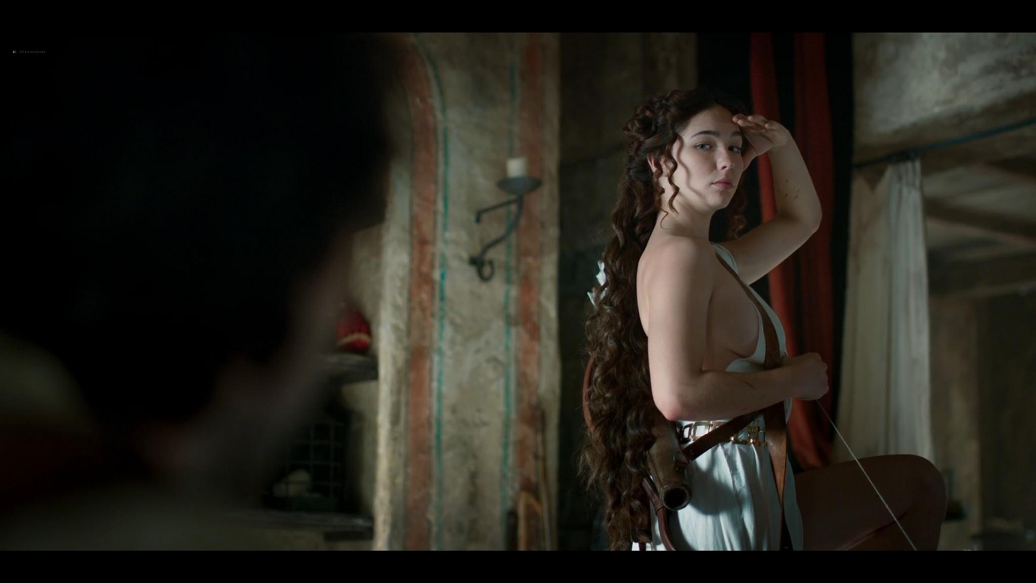 Matilda De Angelis nude full frontal Leonardo 2021 S1 1080p Web 5