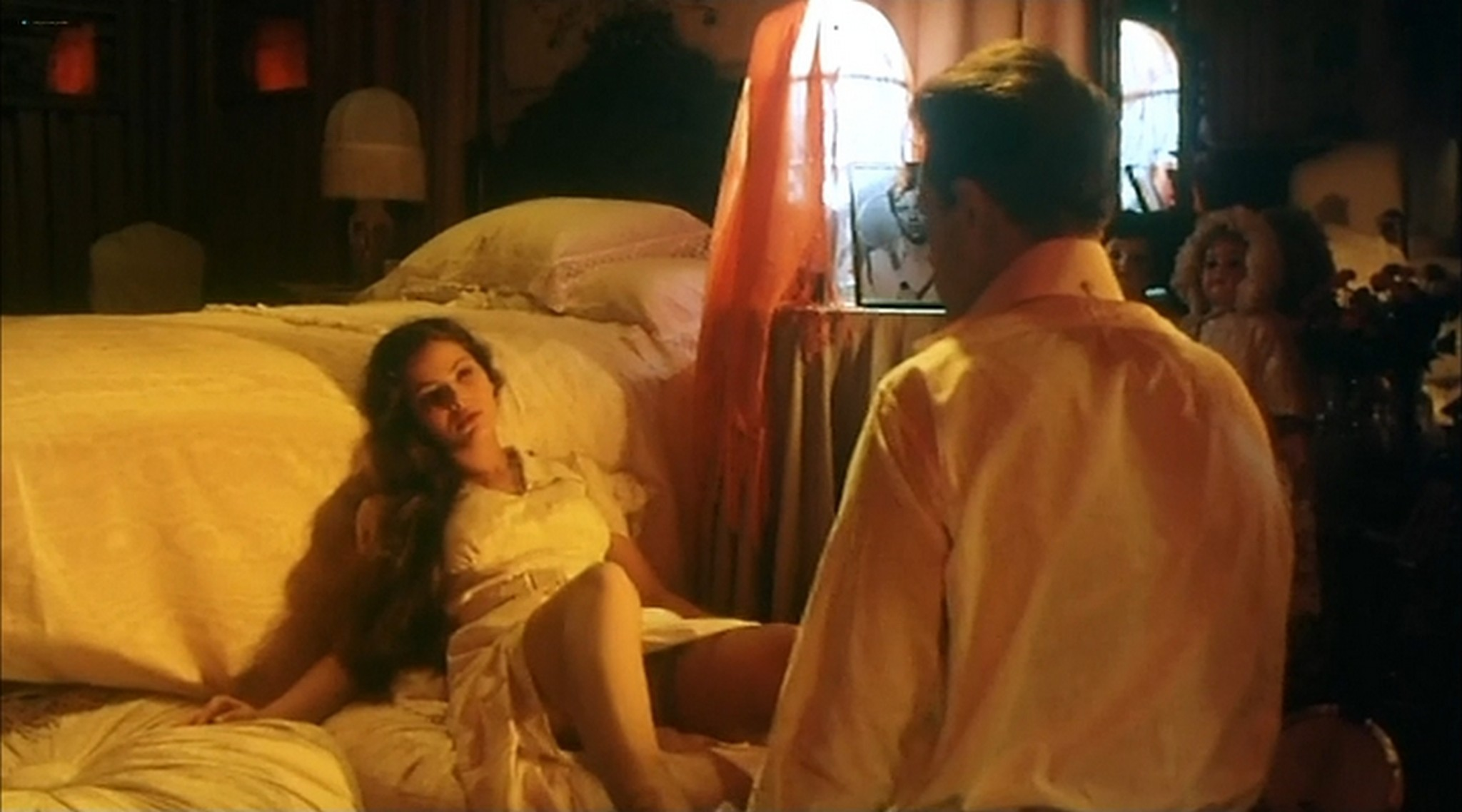 Ornella Muti nude and Senta Berger nude sex Nest of Vipers 1978 10