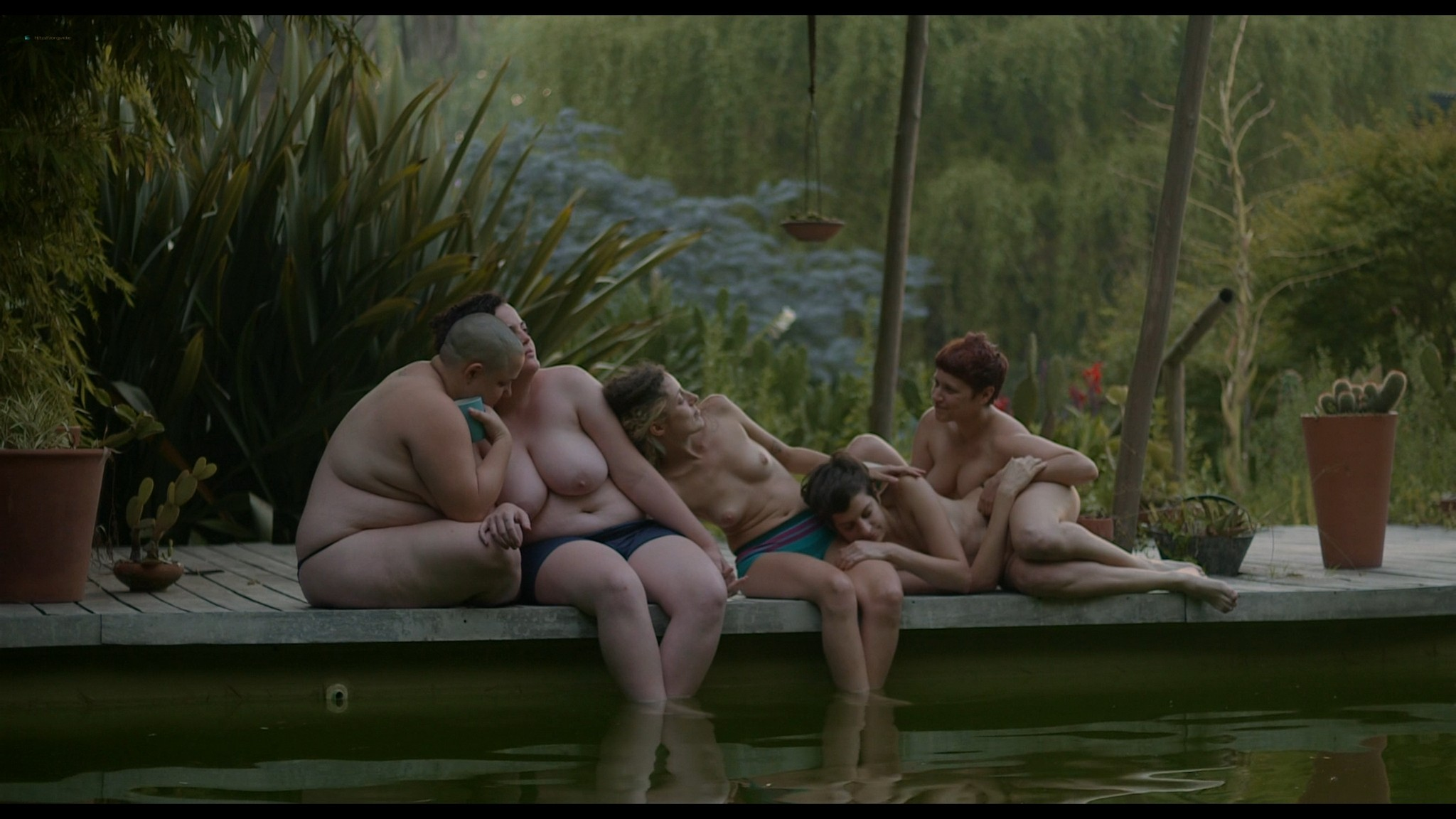 Sofia Gala Castiglione nude explicit Erica Rivas and others nude explicit lesbian sex The Daughters of Fire 2018 1080p Web 12