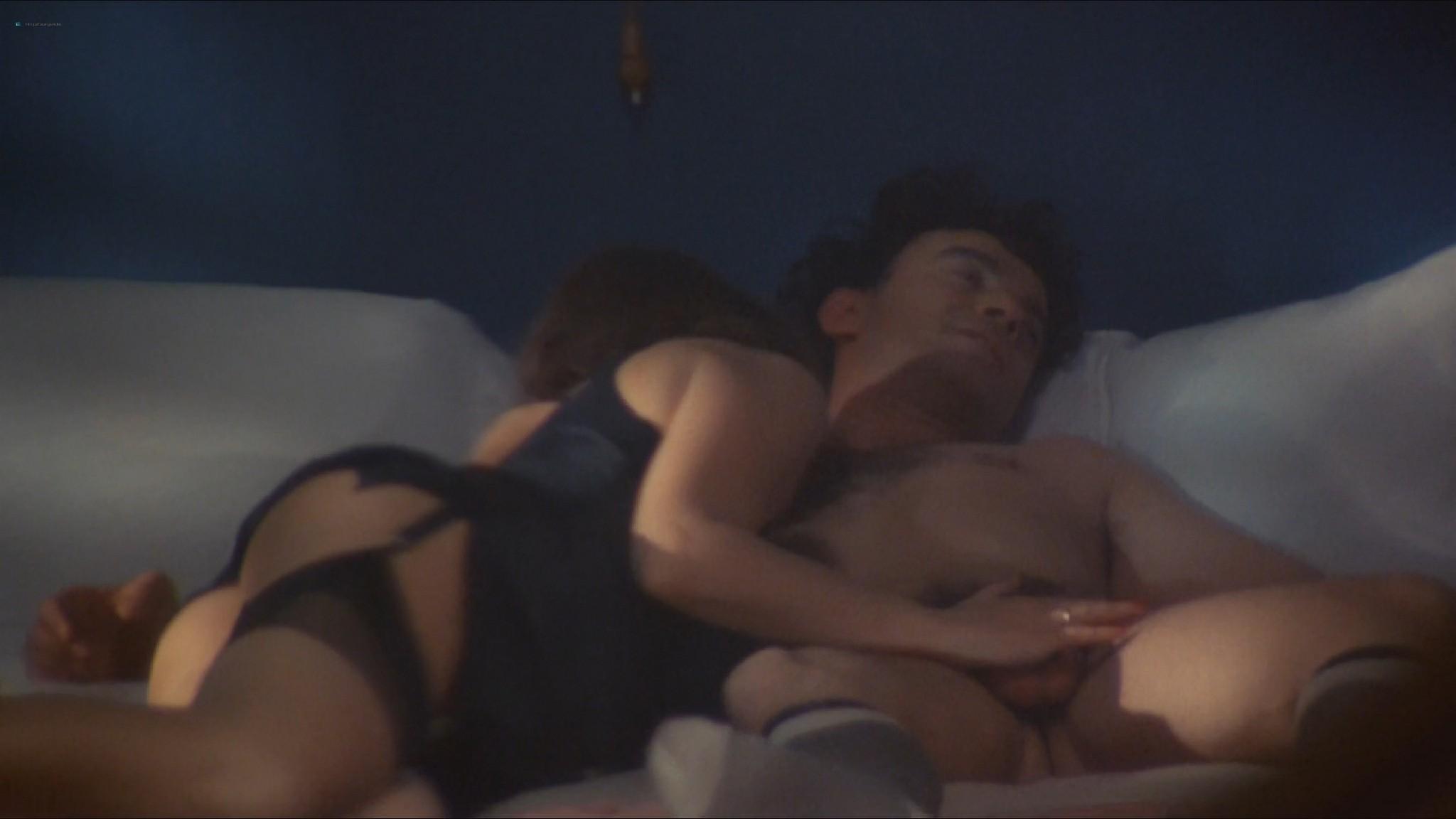 Stefania Sandrelli nude topless bush explicit labia in Tinto Brass style The Key 1983 HD 1080p BluRay 14