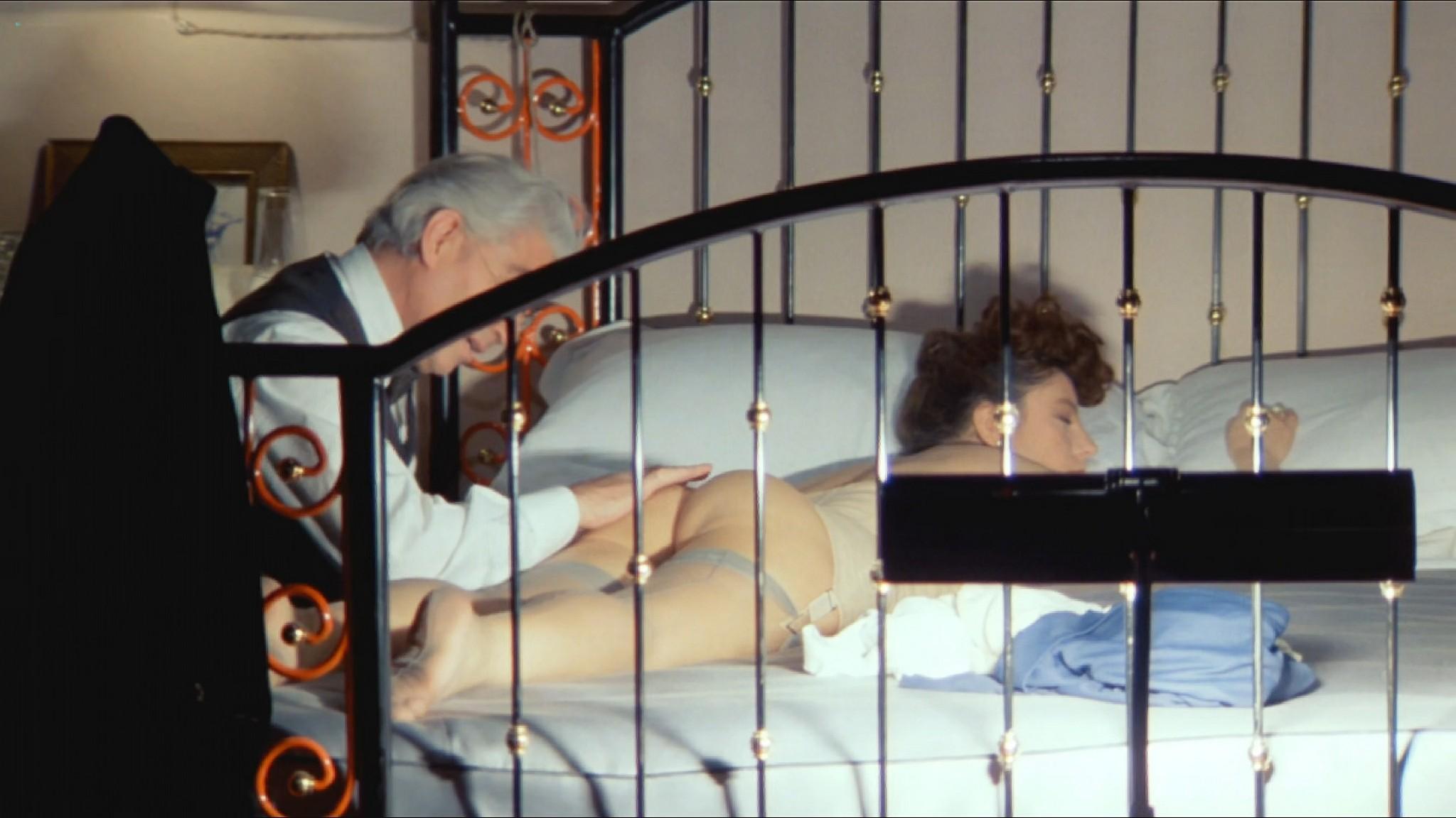 Stefania Sandrelli nude topless bush explicit labia in Tinto Brass style The Key 1983 HD 1080p BluRay 5