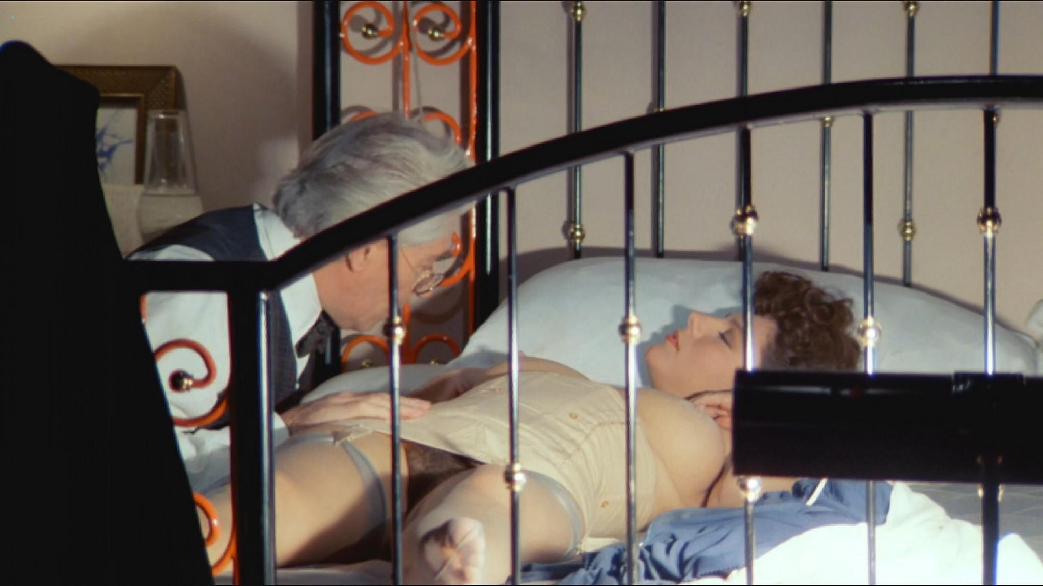 Stefania Sandrelli nude topless bush explicit labia in Tinto Brass style The Key 1983 HD 1080p BluRay 6