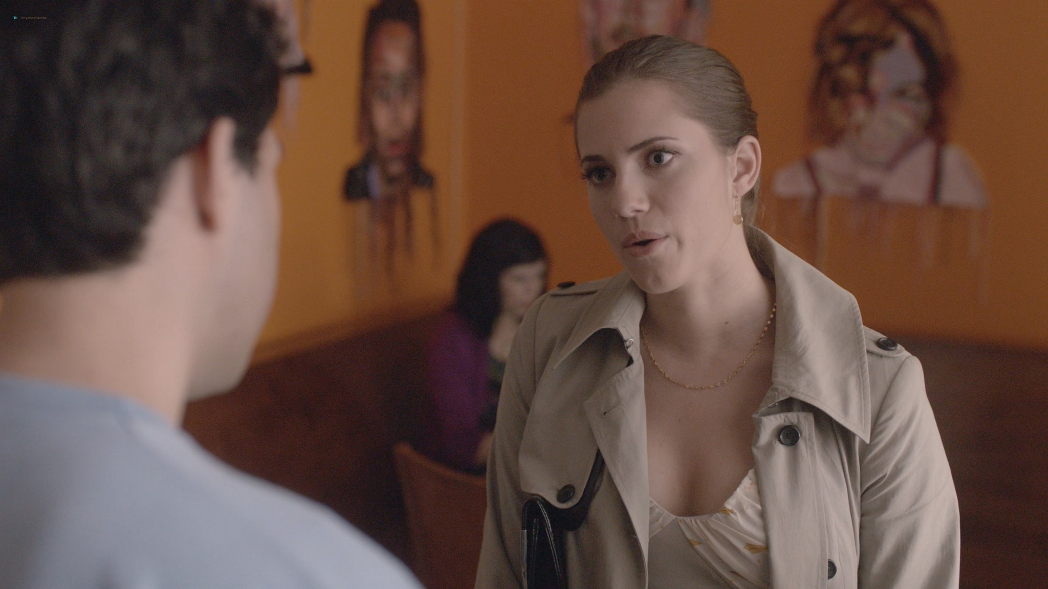 Allison Williams sex Lena Dunham nude Zosia Mamet Jemima Kirke sex Girls 2012 s1e3 5 1080p Web 10