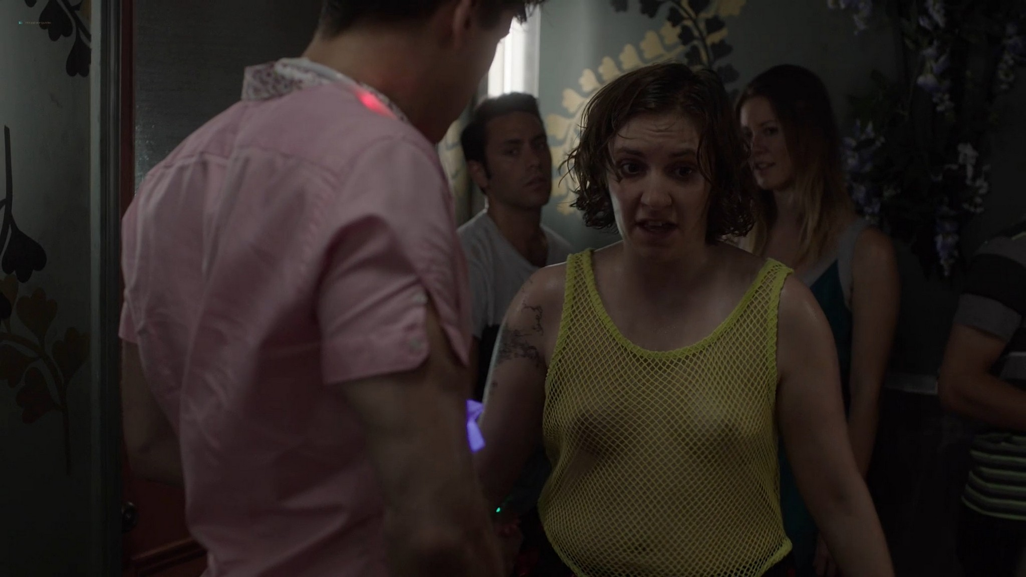 Allison Williams sex Lena Dunham nude Zosia Mamet hot Jemima Kirke nude Girls 2012 s2e1 5 1080p Web 10