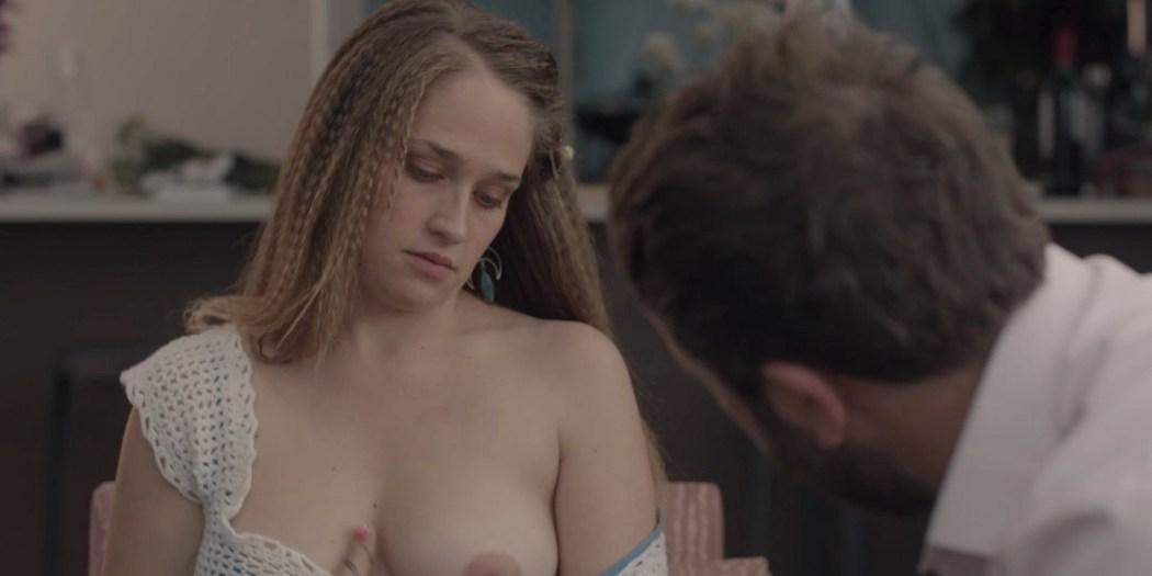 Allison Williams sex Lena Dunham nude Zosia Mamet hot Jemima Kirke nude Girls 2012 s2e1 5 1080p Web 13